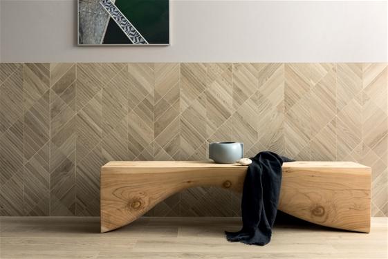 Logia oak vanilla porcelain panel