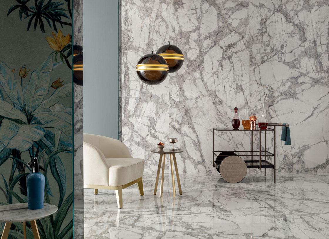 dilleto porcelain panel, living room