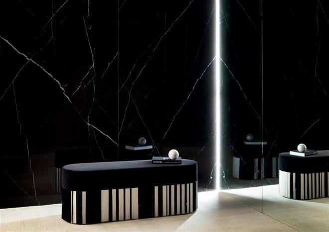 dilleto porcelain panel living room